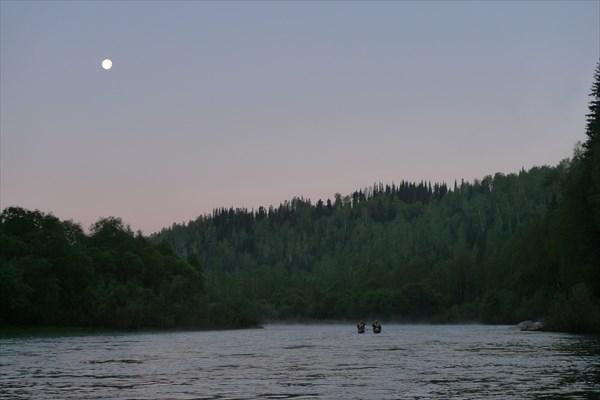 Водные прогулки под луной (4-5 часов утра)