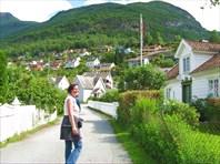 Aurlandsvagen - южный городок! :))