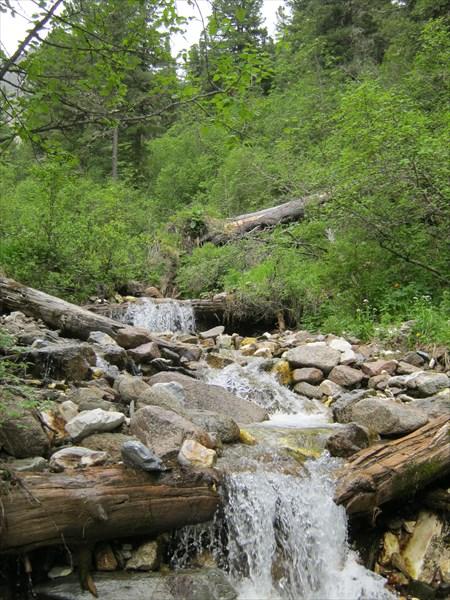 2 день маршрута - иду в сторону перевала Аршанский