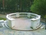 В парке санатория на минеральных источниках Аршана