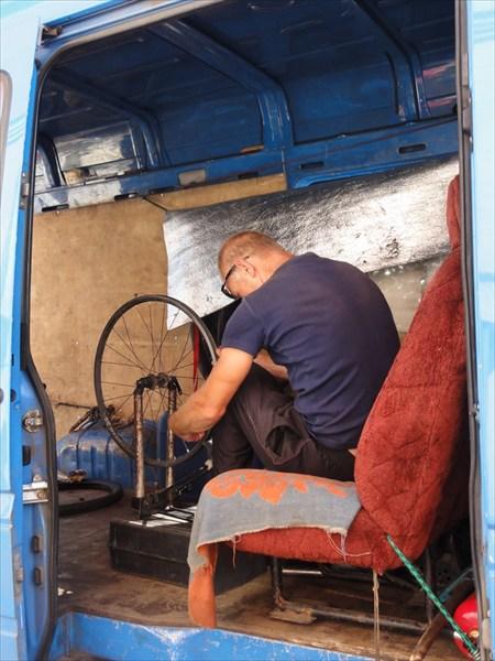 Ремонт колеса в Егорьевске
