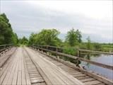 Мост за деревней Посерда