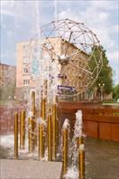 Фонтан на пр. Ленина
