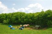 Лагерь у п. Монастыр-Чокрак