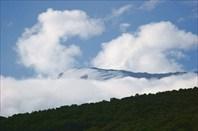 Шапка Кили видна с высоты 3700 м