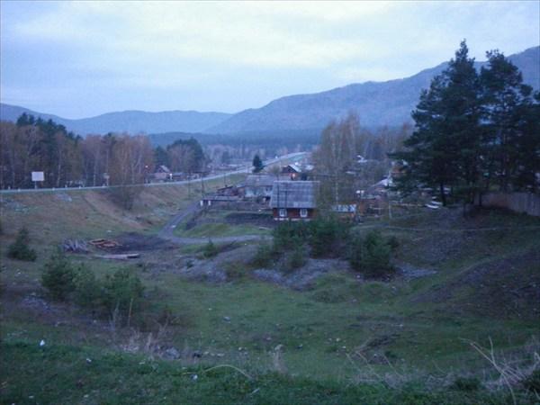 Усть-Сема (перед Камлаком)
