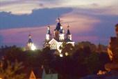 Каменец-Подольский ночью