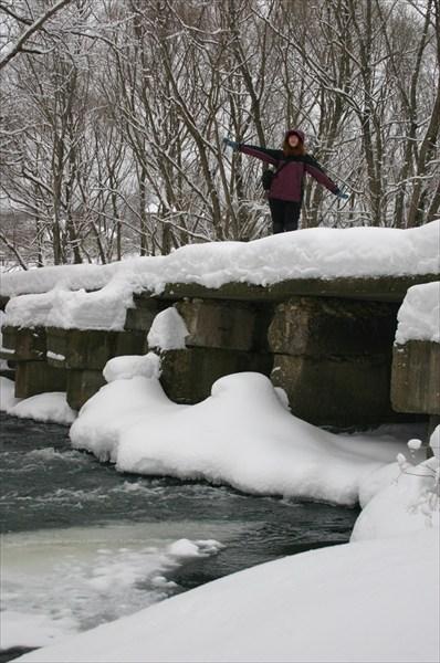 Катя на реке Рожайке