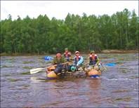 Сплав по Амгуни в пик наводнения