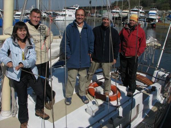 Экипаж перехода Владивосток-Нагасаки