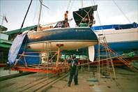 """""""Тира"""" - яхта Седрика и Глории"""