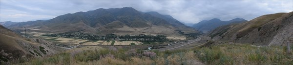 Долина реки Иссык-Ата
