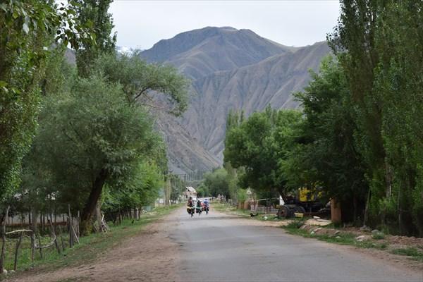 В посёлке Кызыл-Ой