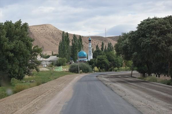 По дороге в п.Чаек
