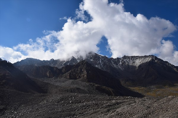 Окружающие горы