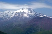 Казбек состороны Кельтского вулканического  плато