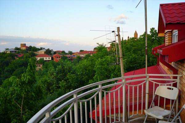 Вид из хостела в Сигнахи
