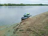 На берегу болото
