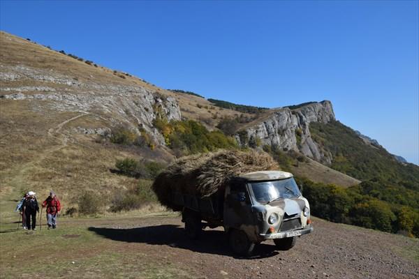 На перевале МАН