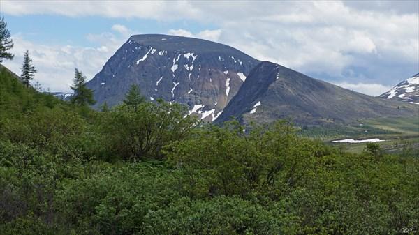 Вершина 2587,6 от вулкана Перетолчина
