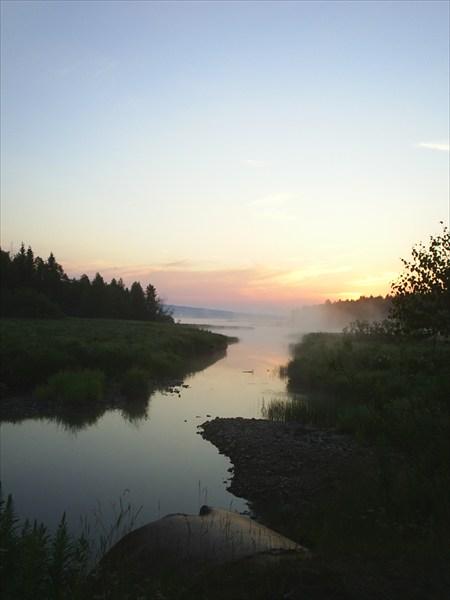 Расвет 5.30 утра. оз. Зюраткуль