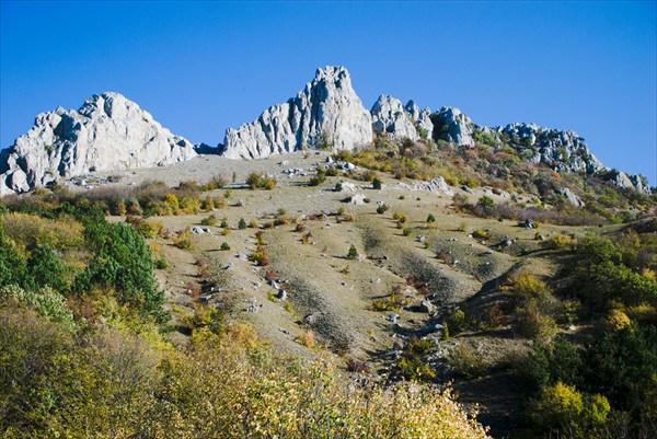 Южный склон Караби