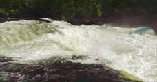 Начало Хамсаринского водопада