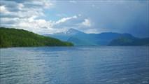 Дождь на озере Устю-Дээрлиг-Холь