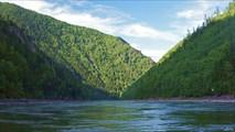 Река Бий-Хем ниже Хутинского порога