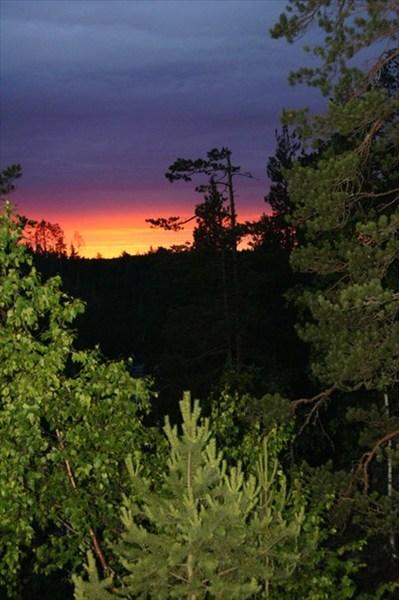 Закат как всегда прекрасен
