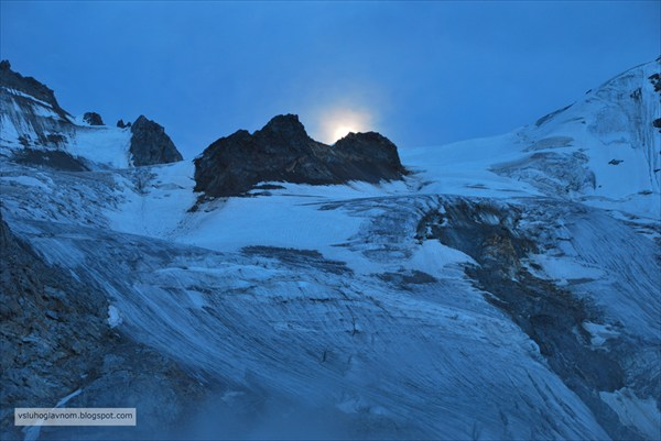 Ночь над Местийским перевалом