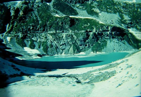 Озеро Клухор в 1985-м