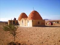 Жилые дома в сирийской пустыне