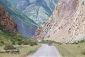 Дорога на южный берег о.Телецкого