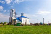 Недостроенный храм в Барабинске