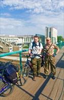 Новосибирские байкеры в предвкушении ацкой рыбалки.