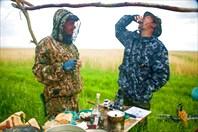 Рыбалка, сами понимаете! :)