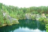 Тальков Камень. Вид на озеро со скалы