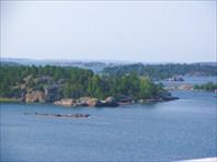 Вид с парома Турку-Стокгольм