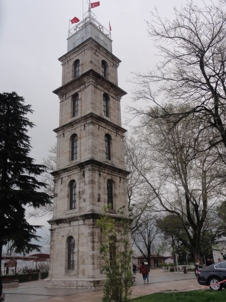 Bursa Saat Kulesi (Часовая башня)