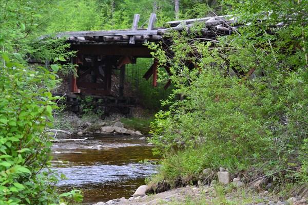 Заброшенные мосты Зимника 110
