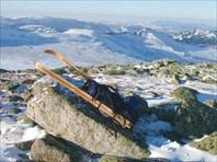 Бащелакский хребет зимой