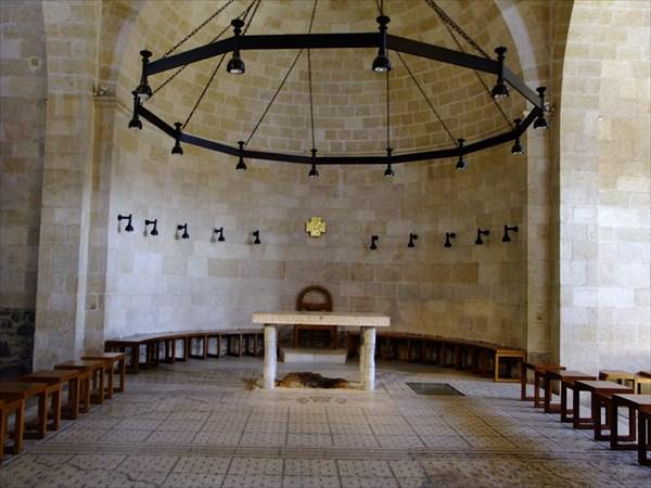 Протестантский храм на месте где Иисус превратил воду в вино