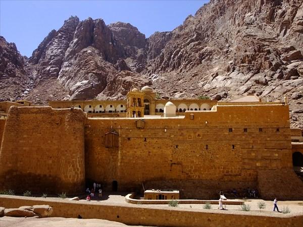 Синай. Монастырь Святой Екатерины