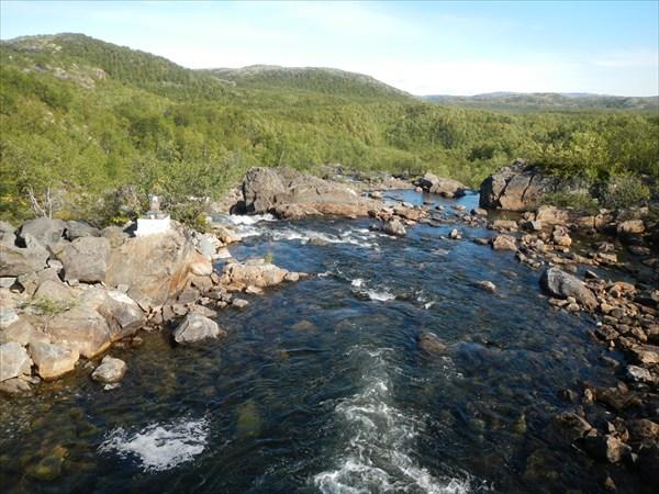 Водопад Титовка