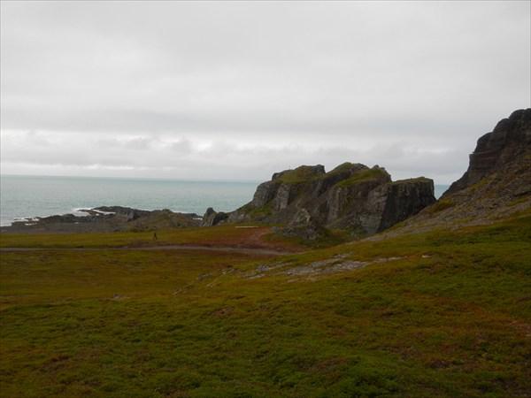 Скалы на мысе Кекурском