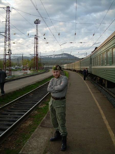 За несколько станций до Апатитов