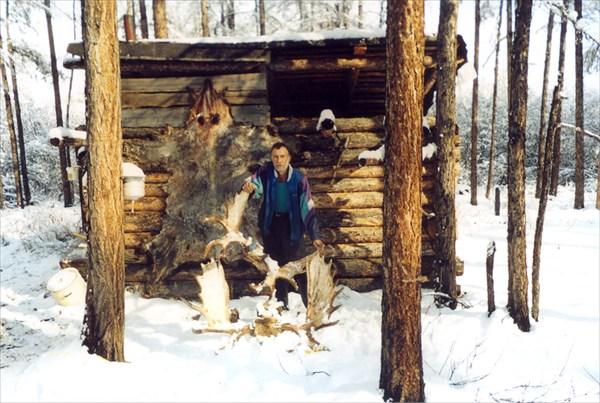 Зимовье у слияния рек Мирюле и Оньоло.