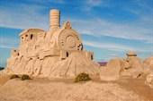 Песочные фигуры в Лаппеенранта
