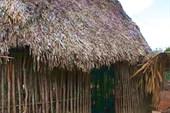 Дом в деревне майя